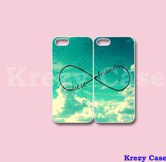 Infinity Best Friends iPhone 4 case, iPhone 5s case, Best Friend iPhone 4 case, Cute iphone case on Etsy, $26.99
