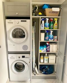 120 brilliant laundry room ideas for small spaces – practical & efficient -pag. 120 brilliant laundry room ideas for small spaces – practical & efficient -pag… Laundry Cupboard, Laundry Room Tile, Laundry Room Layouts, Laundry Room Remodel, Small Laundry Rooms, Utility Cupboard, Small Rooms, Laundry In Kitchen, Laundry Room Ideas Stacked