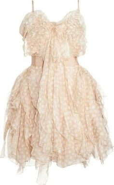 DRESSES I adore / Nina Ricci Ruffled Cocktail Dress