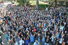 Grevistas da USP fecham acesso ao HU e Politécnica | #AumentoSalarial, #Greve, #MagnoDeCarvalho, #MarliMoreira, #Sintusp, #USP