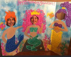 Sirena Mermaid Party cumpleaños sirena recorte por CreativChick