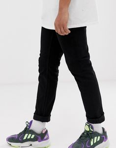 Shop the latest Cheap Monday sonic slim fit jeans in black trends with ASOS! Scandi Style, Cheap Monday, Stretch Denim, Organic Cotton, Fitness Models, Asos, Black Jeans, Slim, Mens Fashion
