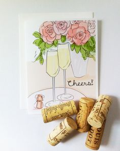 Congratulations Cards. Cards for Friends. by RoseHillDesignStudio, $4.00
