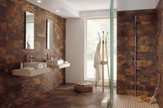 Stone Bathroom Tile Design