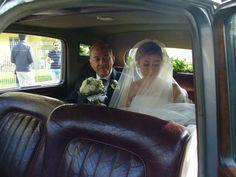 l'emozione della sposa e del suo papà!