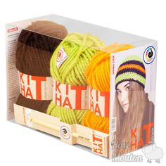"""Kit Hat"" coloris 780-069-392 https://www.rosemouton.com/lanas-stop-kit-hat-1394.html"