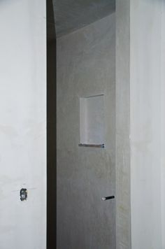 right_shower_wall Diy Concrete Stain, Concrete Shower, Fiberglass Shower, Open Showers, Small Showers, Tub To Shower Remodel, Shower Tub, Master Shower, Large Shower