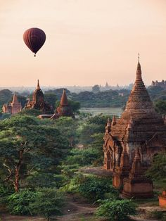 The Secret Ancient City of Bagan in Myanmar is No Longer Forgotten. The Secret Ancient City of Bagan in Myanmar is. Beautiful Places In The World, Places Around The World, Travel Around The World, Around The Worlds, Beautiful Places To Visit, Wonderful Places, Amazing Places In India, Beauty Around The World, Peaceful Places