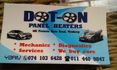 DOT ON PANELBEATERS - Featured on Alexandra Business Portal #ABP Advertise your business for free today and reach out to more customers #WhiteballCS Advertise Your Business, Portal, Quotations, Advertising, Dots, Reading, Free, Stitches, Reading Books