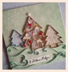 Quilling Christmas, Christmas Ornaments, Nov 6, Projects To Try, Holiday Decor, Instagram Posts, Crafts, Ideas, Yule