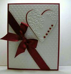 Romantisch dezenter Liebesbrief