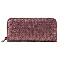 Jessica Jensen Woven Wallet in Plum Haze