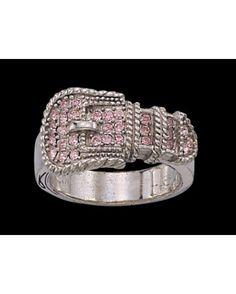 Cute belt buckle ring <3