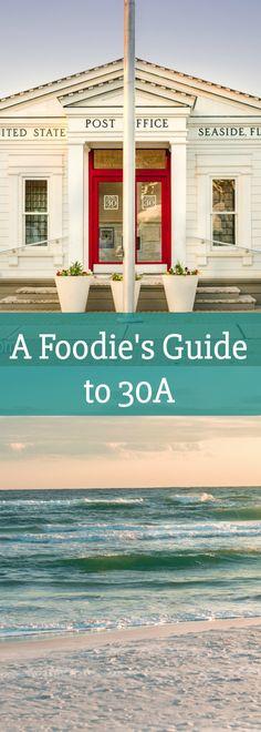 A Foodie's Guide to 30A | travel | traveling | Florida | Florida Panhandle | Destin | Seaside | Beach | Beach trip | ocean |  via @LovePastaBlog