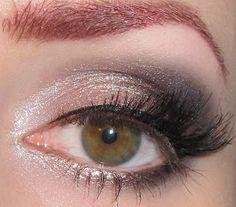 Glitter is my crack...: Romantic Valentine's Day eye makeup Tutorial