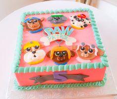 Paw patrol cake Paw Patrol Birthday Cake, Paw Patrol Cake, Cupcake Birthday Cake, Birthday Cake Girls, 3rd Birthday Parties, 4th Birthday, Birthday Ideas, My Daughter Birthday, Bday Girl