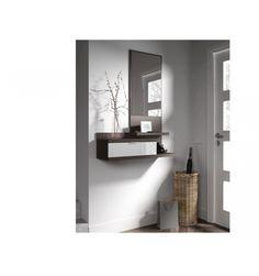 El recibidor es la primera impresión de tu hogar, así que mímalo todo lo que puedas sin complicaciones. Basta una pared para colocar un mueble estrecho, con un cajón, baldas y un espejo. ¡Aquí lo tienes! El espejo ampliará el espacio y reflejará tu felicidad por tener este mueble. ¡No dejes para mañana lo que puedas decorar hoy, pincha en Añadir al carrito! GASTOS DE ENVÍO E IVA INCLUIDOS
