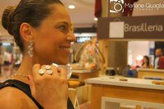 Brinco e anel Ciclone - Inauguração do Showroom Brasilleria. #Joias #Design #Moda #Contemporary #Style #VIKX
