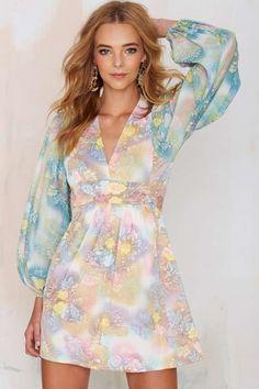 Vintage Chrissie Floral Dress