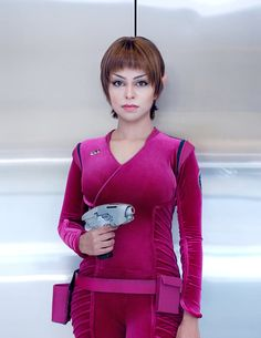 Subcommander T'Pol  - she's got this look down!