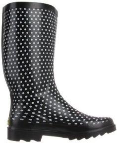Western Chief Women's Plain Dot Rain Boot .... Own them!