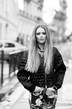 """A lot of people might relate because I started from nothing."" http://www.thecoveteur.com/kristina-bazan-kayture-blogger/"