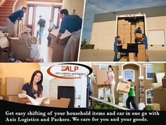 Get easy #shifting of your household items and car in one go with Axis Logistic and Packers. We care for you and your goods.