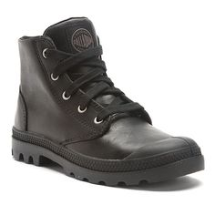 low priced 9cfc2 b98b9 Palladium Pampa Hi Leather   Women s - Black Palladium Pampa Hi, Winter  Shoes, Inspired