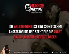 Ablutophobie #horrorfakten #phobia #psychology