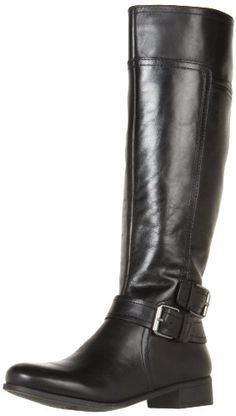 Amazon.com: Nine West Women's Shiza Knee-High Boot,Dark Brown Austin Leather,5 M US: Shoes