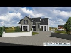 House Layout Plans, New House Plans, House Layouts, House Designs Ireland, Grand Designs, Living Room With Fireplace, Types Of Houses, Model Homes, Front Porch