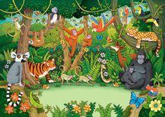 TOUCH den här bilden: Interactieve praatplaat de Jungle. Filmpjes bij de dieren by ingrid