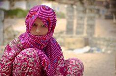 A Bedouin girl in Nuweiba - Egypt - Bedouin