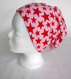 Mützen - ✪ rosa Sternenhimmel ✪ traumhafter Beanie - ein Designerstück von traumgenaeht bei DaWanda