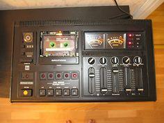 Vintage cassette machine.