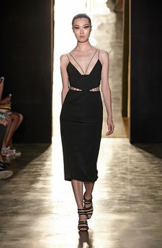 Vestido black & wihite de Cushnie et ochs Primavera-Verano 2015 // Pink dress Spring-Summer 2015