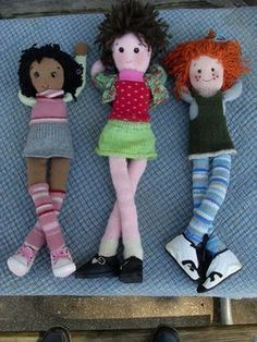 Maggie Bean & Friends (Free Knitting Pattern) …