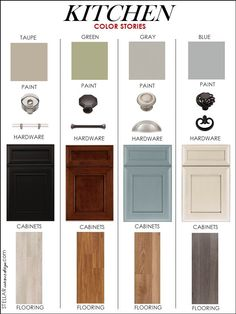 Quite a useful and inspirational colour stories for your #kitchen. Which colour combination do you like most?