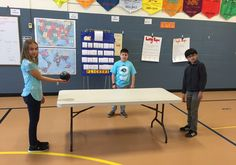 PE Teacher Mike Ginicola shares how to play Table Ball to spice up your striking unit for grades The game is easy to set up and play. Giving students Physical Education Activities, Elementary Physical Education, Pe Activities, Health And Physical Education, Team Building Activities, Health Class, Elderly Activities, Dementia Activities, Movement Activities