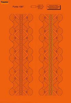 picados de las paginas - rosi ramos - Álbumes web de Picasa Wedding Garter Lace, Wedding Garters, Bobbin Lacemaking, Bobbin Lace Patterns, Lace Heart, Parchment Craft, Lace Jewelry, Lace Making, Lace Design