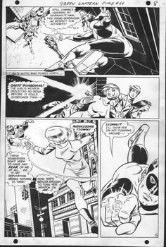 Green Lantern #69 pg 7 - Gil Kane & Wally Wood Comic Art