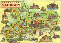 Sachsen | Sehenswürdigkeiten in Sachsen