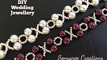 XOXO Perlen Armband Hochzeitsschmuck in 10 Minuten 👍🏻👰🏻 DIY - jewelry diy bracelets Seed Bead Jewelry, Bead Jewellery, Jewellery Shops, Jewelry Necklaces, Jewelry Stores, Jewelry Dish, Antique Jewellery, Jewellery Designs, Jewellery Storage