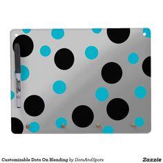 Customizable Dots On Blending Dry-Erase Board