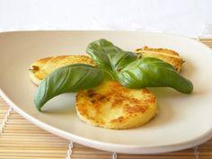 Croquettes de polenta au Cantal et Basilic