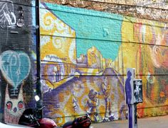 """Seen in Shoreditch, London: """"It's You"""" by Kyle Holbrook, Sclater Street, 2015 #Shoreditch"""