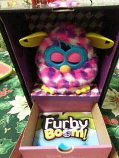 Furby Boom is one of the family! @3decades3kids DianeSullivan DianeSullivan DianeSullivan DianeSullivan