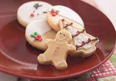 Biscoitinhos Amanteigados de Natal - Vovó Palmirinha