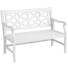 for front porch? Rock Point Folding Bench - White | Pier 1 Imports