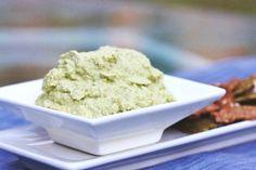 Zucchini Almond Hummus (raw, vegan, gluten free, soy free)